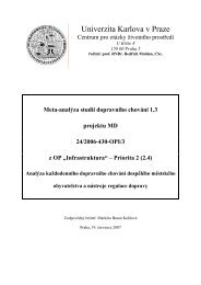 pdf (489 kb) - Centrum pro otázky životního prostředí UK - Univerzita ...