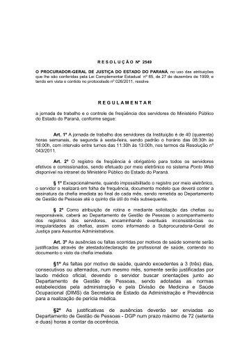 Ponto Web - Ministério Público do Paraná