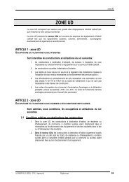 Zone UD approbation - Ville d'Aubervilliers