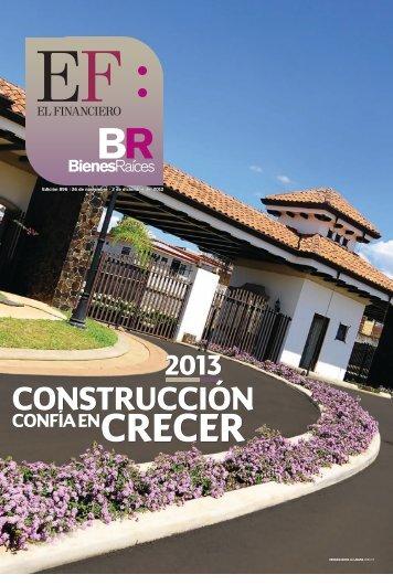 pdf PDF, Bienes Raíces. 2013: Construcción confía en - El Financiero