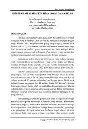 Integrasi Nilai-Nilai Kearifan Lokal Dalam Iklan. Oleh: Anne Maryani ...