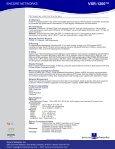 VSR-1200™ - Encore Networks - Page 2