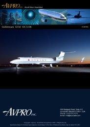 2008 Gulfstream G550 - Business Air Today