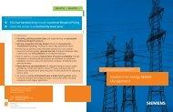 Energy Market Management Booklet - Siemens