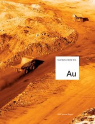 Annual Report - Centerra Gold