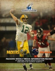 Packers at Bears NFC Championship Release.indd - NFL.com