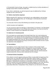 Page 5 of 12 c) Occasionally a fuel surcharge may apply, as ...
