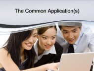 The Common Application(s) - Louisiana School for Math, Science ...