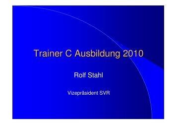 Trainer C Ausbildung 2010 - Schwimmverband Rheinland