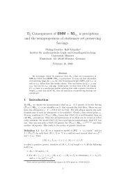 Π2 Consequences of BMM + NS is precipitous and the ...