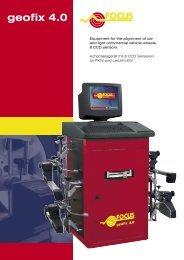 geofix 4.0 R - FOCUS   Garage Equipment