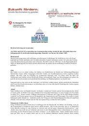 Berufsorientierung am Gymnasium Am 30.06. und 01.07.10 ...