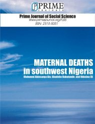 See Full Article [pdf] - Prime Journals