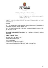 Decreto n - Prefeitura de São Paulo