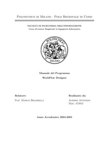 Thesis full text PDF - Untitled Document - Politecnico di Milano
