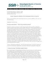 For Immediate Release: October 7, 2009 Contact: Nan Broadbent ...
