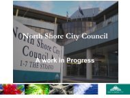 North Shore City Council - International Association for Public ...