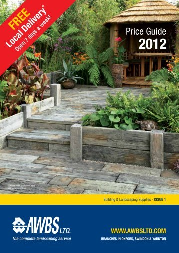 Price Guide - AWBS Landscaping and Building Supplies