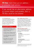 Download our PO BOX® application form - Royal Mail - Page 2