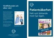Patientsäkerhet - Vårdförbundet