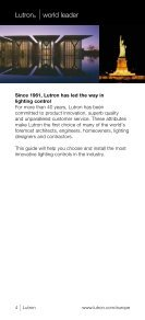 WALLBOX Lighting ControLs guide - Lutron Lighting Installation ... - Page 6