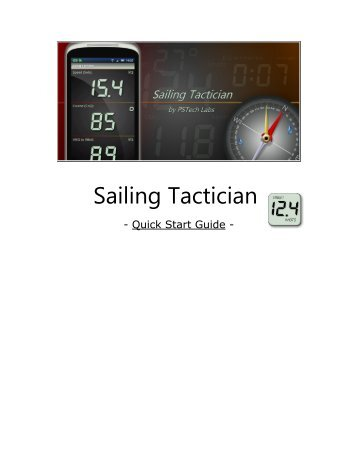 Get the Quick Start Guide! - Sailing Tactician App