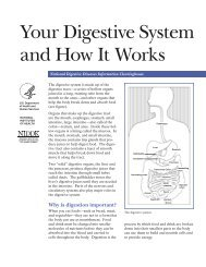 Your Digestive System and How It Works - National Digestive ...