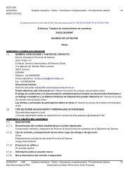 E-Zamora: Trabajos de mantenimiento de carreteras - Globalconstroi