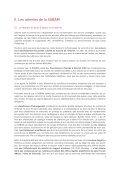 Mémorandum fédéral 2011 - 2012 - Sabam - Page 7