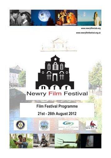 Film Festival Programme 21st - 26th August 2012
