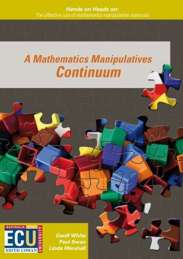 A Mathematics Manipulatives Continuum - maths-no-fear
