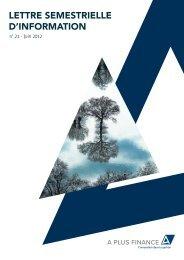 Lettre d'information 2012 S1 - Haussmann Patrimoine