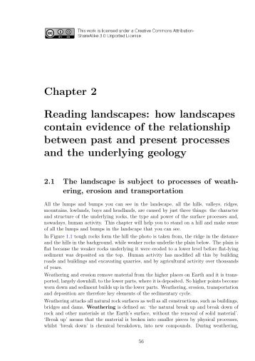 Chapter 2 Reading landscapes: how landscapes contain evidence ...