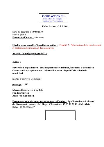 consulter les 15 fiches actions - Pageas