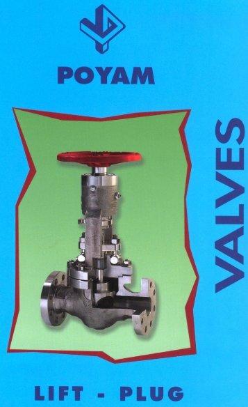 Poyam Lift Plug Valves - Associated Valve