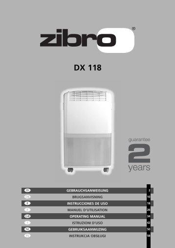 DX 118 - Zibro