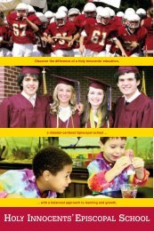 discover - Holy Innocents' Episcopal School