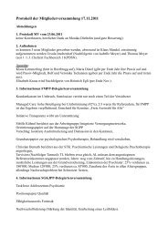 Protokoll der Mitgliederversammlung 17.11.2011 - sggpp