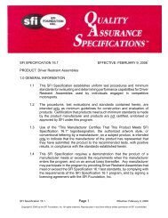 Page 1 SFI SPECIFICATION 16.1 EFFECTIVE: FEBRUARY 9, 2006 ...