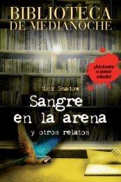 Sangre en la arena. Biblioteca de Medianoche - Anaya Infantil y ...
