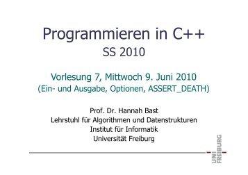 Programmieren in C++, Vorlesung 7, 9Jun10.pdf - ad-teaching.infor...
