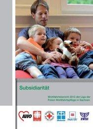 Zum Download des Wohlfahrtberichtes 2013 - Liga der Freien ...