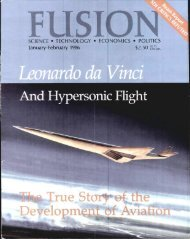 And Hypersonic Flight