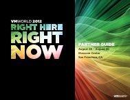 Partner Guide - VMworld.com