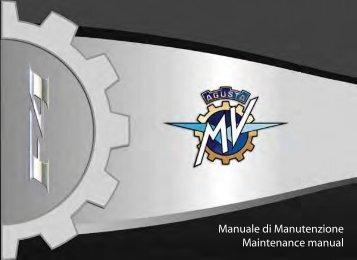 MV Agusta F4 Wartungshandbuch - Leu Tuning GmbH