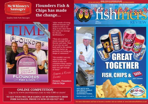 Fish Chips Federation Of Fish Friers