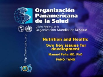 two key issues for development - BVSDE - PAHO/WHO