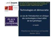 Technologies et démocratie - ALexandra Soulier - Plateforme societal