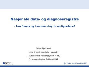 Nasjonale data- og diagnoseregistre - classic.vitaminw.no