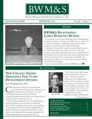Bulletin Vol 5 Issue 1 Jan Feb 06 - Burke, Warren, MacKay ...